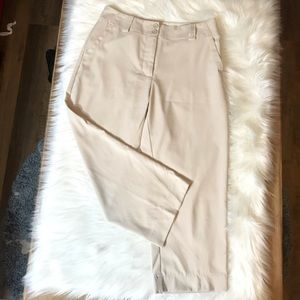 Nike Women's Dri-Fit Golf Capri Pants Tan Size 2